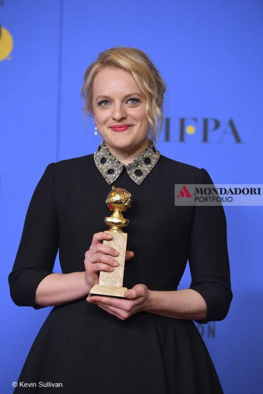 "Golden Globes - Elisabeth Moss, ""Migliore attrice in una serie tv drammatica"" per ""The Handmaid's Tale"""