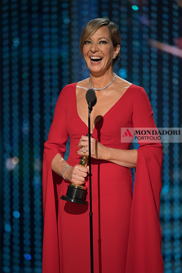 """Allison Janney ha interpretato la madre della pattinatrice statunitense Tonya Harding nel film """"Tonya"""", interpretazione che le è valsa la statuetta per Migliore attrice non protagonista"""