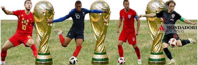 I Campionati Mondiali di Calcio 2018 volgono al termine.
