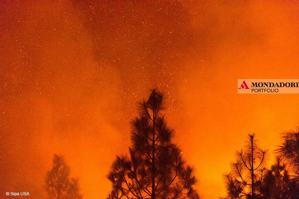 Camp Fire: Le colline di Bloomer Hill, California, il 14 novembre 2018
