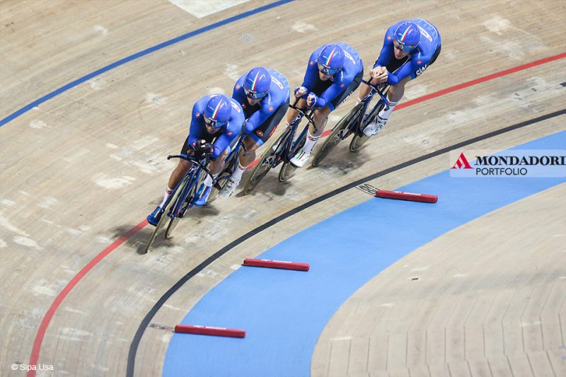 Campionati del mondo di ciclismo su pista.