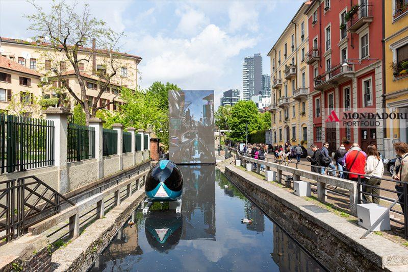 Il Salone del Mobile 2019 ha omaggiato Leonardo da Vinci con Aqua, progetto che celebra l'originalità e la profondità visionaria delle indagini di Leonardo sull'elemento acqua.